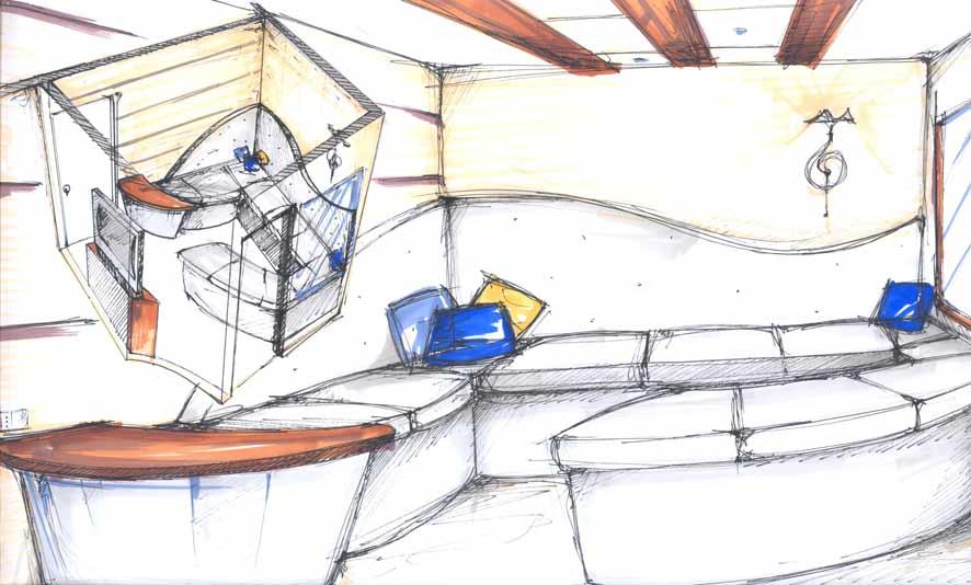 Design dell arredamento liceo artistico apolloni fano for Arredamento navale