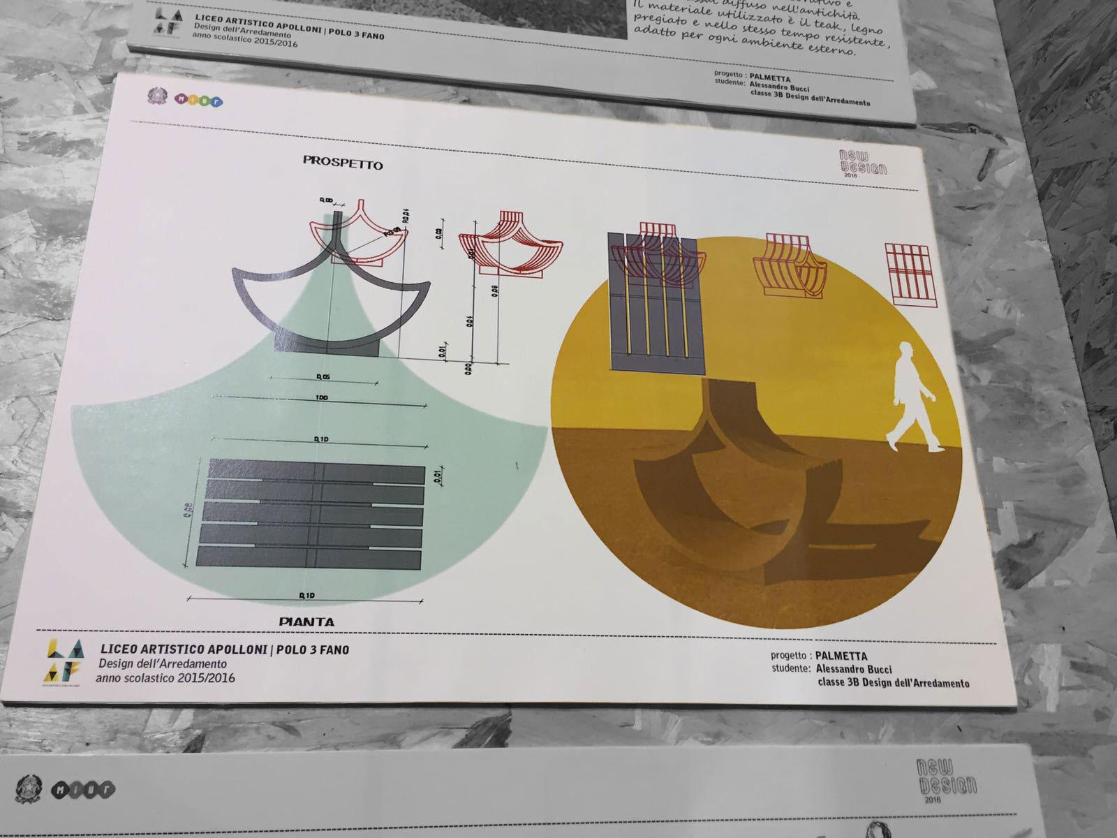 Alessandro Bucci Architetti new design 2016 | liceo artistico apolloni fano